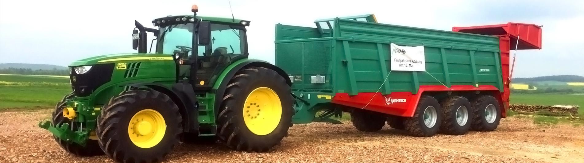 MK Landmaschinen-Vertrieb Foto Traktor